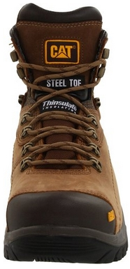 cat steel toe boots