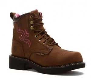 Justin Gypsy Steel Toe Womens Work Boots
