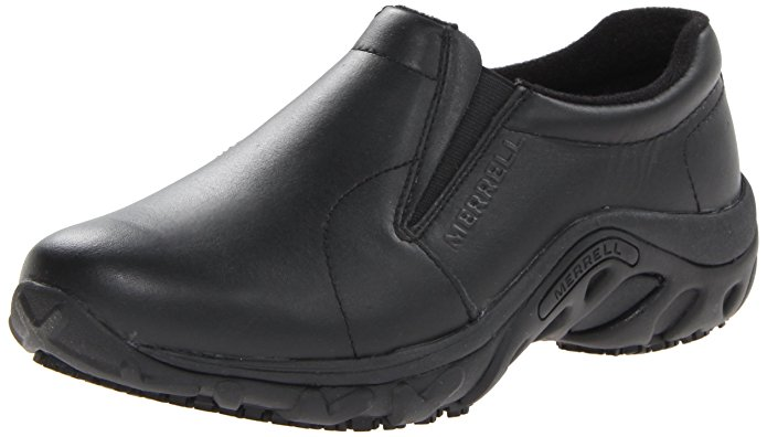 Merrell Women's Jungle Moc Pro Grip Slip-Resistant Work Shoe