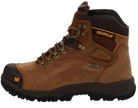 caterpillar steel toe work boots