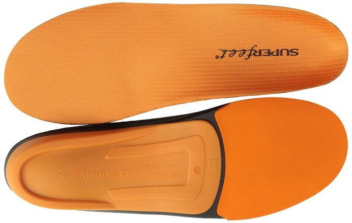 Superfeet Premium Orange Insoles