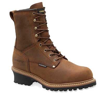 Mens Carolina Steel Toe Logger Boots